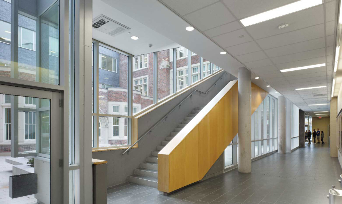 North Toronto Collegiate Institute / Republic Condominiums Adjeleian Allen Rubeli Limited